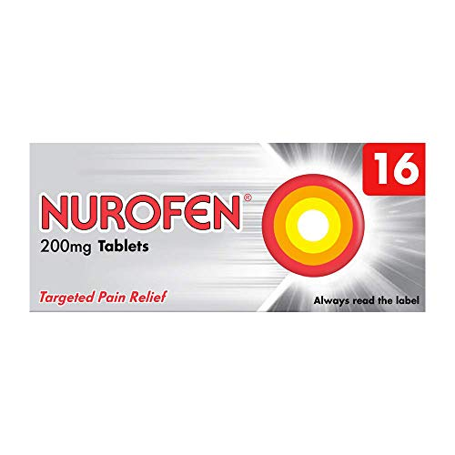 Nurofen tablets contain 200mg of ibuprofen
