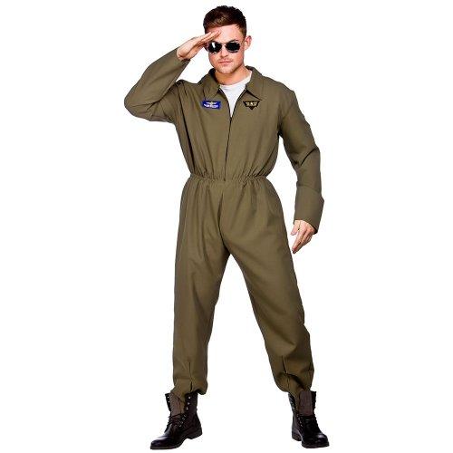 Déguisement costume Homme - Top Shot Pilote d'avion - Taille M