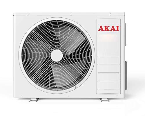 AKAI Climatizzatore MISTRAL12400 MONOSPLIT in Pompa di Calore 12000BTU A++ Wi-Fi Bianco