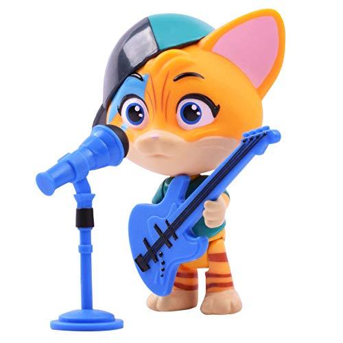 Smoby 180110 Spielfigur Lampo mit Gitarre, Figur aus der 44 Cats Serie, für Kinder ab 3 Jahren, Mehrfarbig