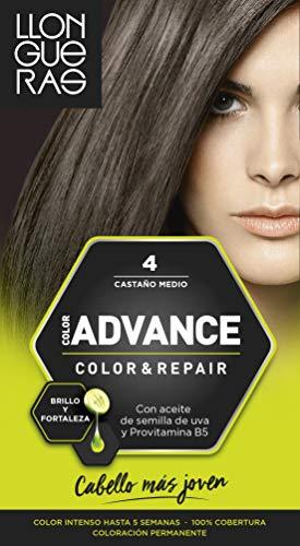 llongueras kleur advance haar kleur 4 medium bruin