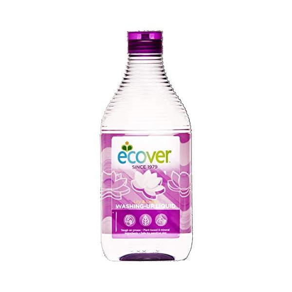 Ecover Washing Up Liquid, Lily & Lotus, 450 ml