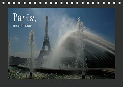 Paris, mon amour (Tischkalender 2021 DIN A5 quer)