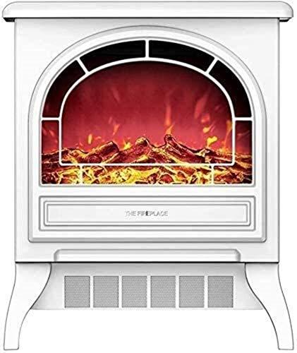 AYCYNI Infrarrojos Chimenea calefacción - rápida calefacción eléctrica portátil y el Calentamiento del baño