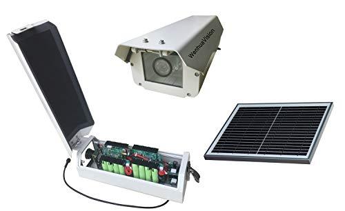 Wenhua 3G 4G Time Lapse Construction Camera WH_5M0FGS_G_BSS16, Foto temporizzata, Full HD 5.0MP, Fotocamera con batteria solare 4G,Agricoltura intelligente
