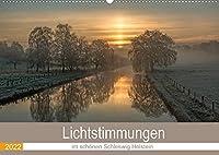 Lichtstimmungen im schoenen Schleswig Holstein (Wandkalender 2022 DIN A2 quer): Stimmungsbilder aus dem schoenen Schleswig Holstein (Monatskalender, 14 Seiten )
