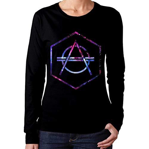 Zontyss Women's Galaxy Don Diablo Long Sleeve T-Shirts Black,Black,XX-Large