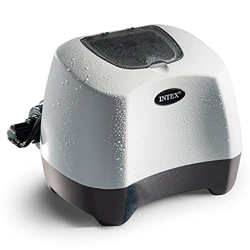 Intex 26665EG Intex-120V Saltwater System & Ozone W/GFCI Pool, 3 self-Clean Modes Available, 6/10/14-hr Cycles, White