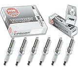 6 pcs NGK V-Power Spark Plugs for 2006-2010 Dodge Charger 2.7L V6 - Engine Kit Set Tune Up