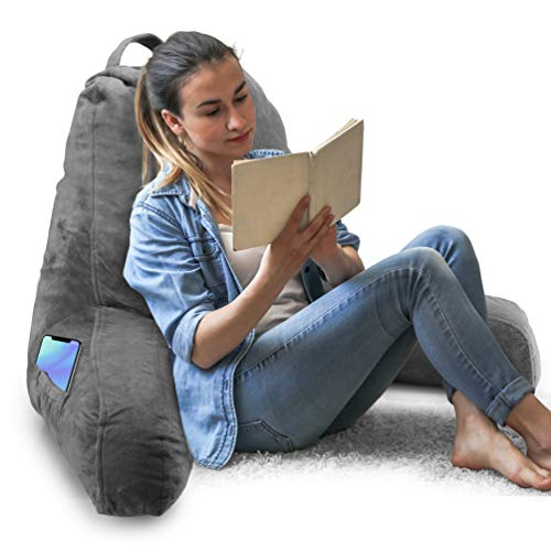 Springcoo Reading Pillow-Shredded Foam TV Pillow...