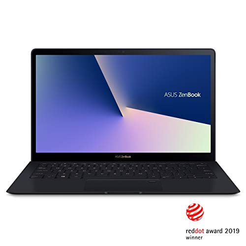 ASUS ZenBook S UX391UA-XB74T Ultra-Thin and Light 13.3-inch UHD 4K Touch Laptop, Intel Core i7-8550U, 16GB 2133MHz RAM ,512GB PCIE G3X4 SSD, Windows 10 Pro, FP Sensor, Thunderbolt