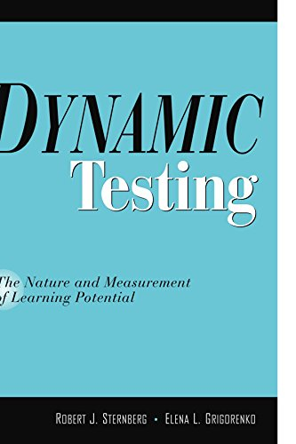 Compare Textbook Prices for Dynamic Testing: The Nature and Measurement of Learning Potential Illustrated Edition ISBN 9780521778145 by Sternberg PhD, Robert J.,Grigorenko, Elena L.