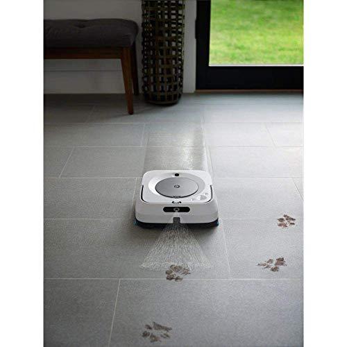 iRobot Braava m6 (m6134) Wischroboter mit WLAN, Präzisions-Sprühstrahl und erweiterter Navigation, Zeitplanreinigung, lernt und passt sich Ihrem Zuhause an, Nass- und Trockenwischen, App-Steuerung - 8