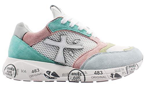 PREMIATA Sneakers Donna cod.ZACZACD Grigio/Rosa Size:39 EU