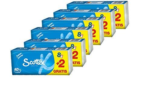 Scottex zakdoeken 8 + 2 verpakkingen (6-pack)