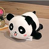 Lindo panda grande de peluche de juguete suave animales de dibujos animados oso muñeca cumpleaños regalo de Navidad sofá almohada cojín 30Cm
