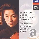 The Great Violin Concertos - Mendelssohn, Beethoven, Tchaikovsky, Sibelius