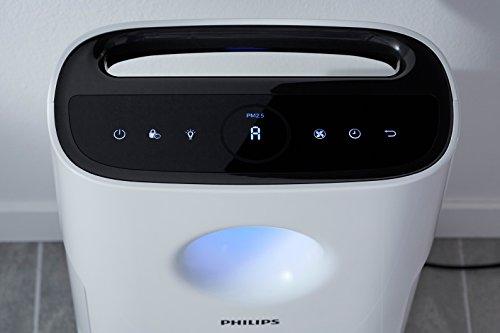 Philips AC3259/10 Puritificateur d'air connecté, purifie jusqu'à 95 m², triple filtration, affichage des particules fines en temps réel
