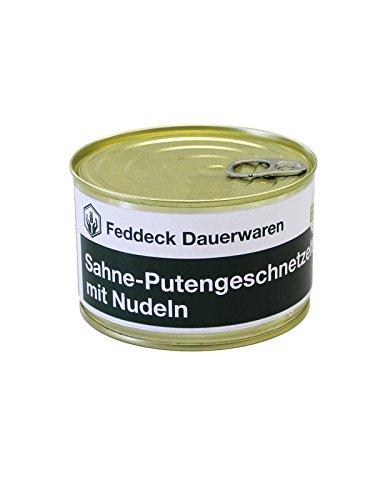 Fertiggericht Dose Sahne-Putengeschnetzeltes mit Nudeln 400 g
