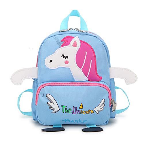 DURIAN MANGO Kinderrugzak, kinderrugzak met teugels, schooltas voor kinderen, schattige rugzak, geschikt voor kinderen van 1-6 jaar