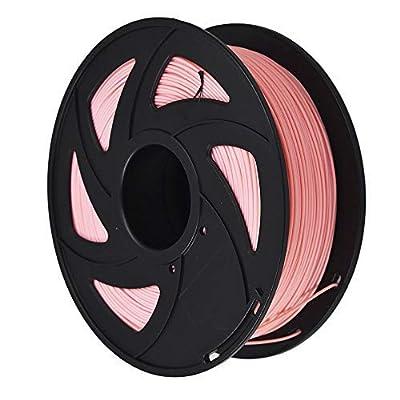 3D Printer Filament - 1KG(2.2lb) 1.75mm / 3 mm, Dimensional Accuracy PLA Multiple Color (Pink,1.75mm)