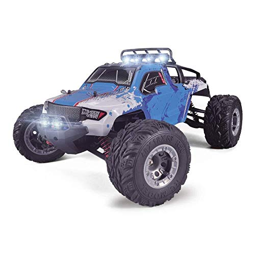 ADLIN 2,4 GHz Super-kollisionssicherere Fernbedienung Auto-Akku, High-Speed-Buggy Monster Truck Crawler, Einzelradaufhängung, Geschenk for Kinder EIN