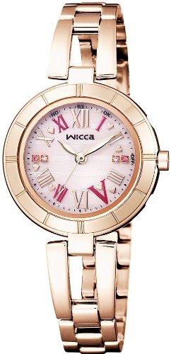 [シチズン]CITIZEN 腕時計 wicca ウィッカ ソーラーテック 電波時計 KL4-664-91 レディース