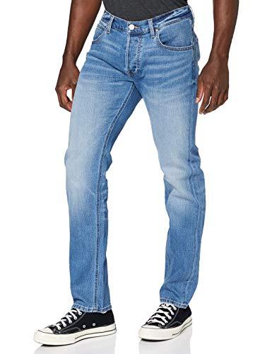 Lee Daren Jeans Slim, Blu (Light Daze ZX), W36/L34 Uomo