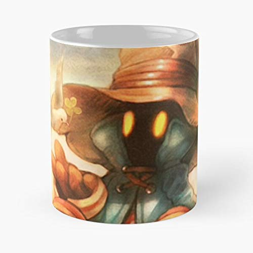 5TheWay Mage Anime Manga Game Magic Black Happy Vivi - Best 11 oz Kaffeebecher - Nespresso Tassen Kaffee Motive