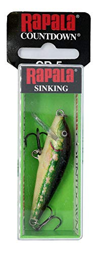 Rapala Unisex-Adult Countdown Locken, Elritze, 5cm