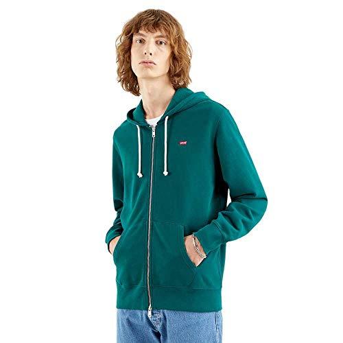 Levi's Zip Up Sudadera, Forest Biome, XXL para Hombre
