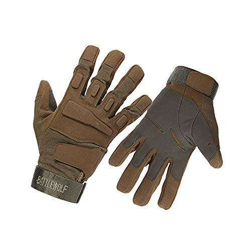 Xinllm Guantes Anticortes Guantes Jardineria Hombre Guantes de jardinería Los Hombres Guantes de jardinería Los niños Guantes de jardinería Brown,L
