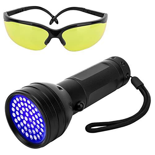 Pawaboo Linterna Ultravioleta 51 LED UV