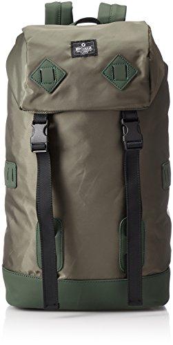 [レジスタ] PVCナイロン バックパック メンズ レディース 男女兼用 タブレットポケット付き A4対応 大容量 黒 ネイビー カーキ 3カラー