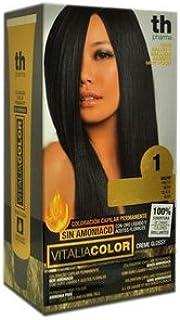 Th Pharma Th Vitalia Color Tinte Nº 1 Negro Sin Amoniaco 100 ...