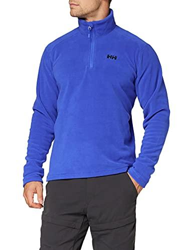 Helly Hansen Daybreaker 1/2 Zip Fleece Veste Homme, Royal Blue, M