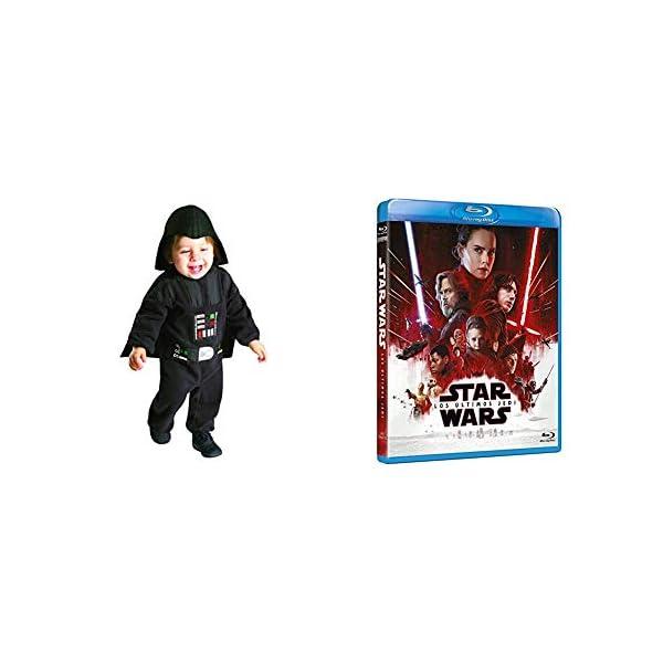 The Last Jedi Blu-Ray + DISFRAZ DARTH VADER PRESCHOOL