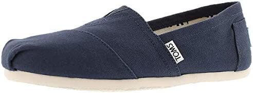 TOMS Womens Classics Navy Canvas 001001B07 NVY Womens 8 product image