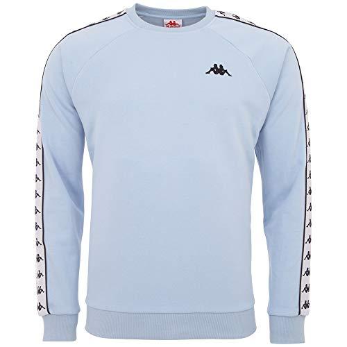 Kappa Herren Authentic FADDEI Sweatshirt, cashmire Blue, S