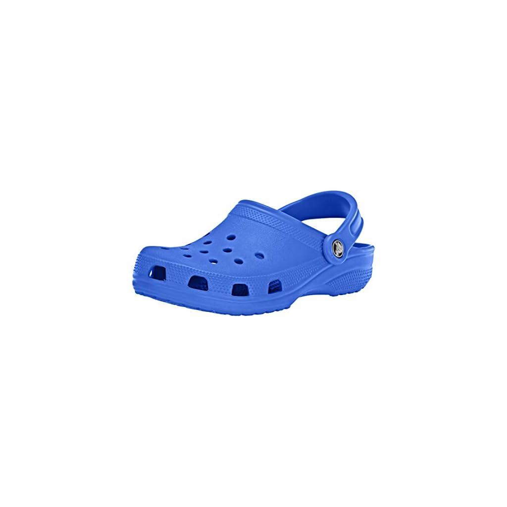 Crocs Classic Clog|Comfortable Slip On Casual Water Shoe, Bright Cobalt, 13 US Women / 11 US Men M US