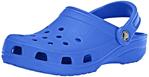 Crocs Classic Clog|Comfortable Slip On Casual Water Shoe, Bright Cobalt, 8 M US Women / 6 M US Men