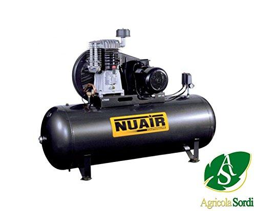 NUAIR NB7/7,5CT/500 fietsmotor 10HP 11BAR tankdeksel 500 liter