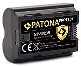 PATONA Protect V1 NP-W235 - Batería para Fuji Fujifilm X-T4 (2250 mAh)