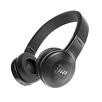 JBL E45BT On-Ear Wireless Headphones  Black