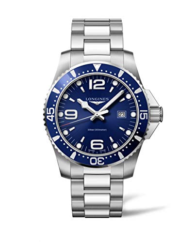 Longines HydroConquest Blue Dial Stainless Steel Mens Watch L38404966