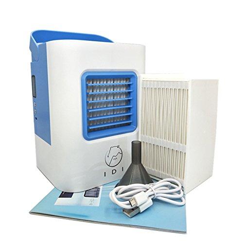 SL&LFJ Piccolo condizionatore d'Aria Portatile Auto,Dormitorio Mini Creativo di Ventilatore per Desktop...