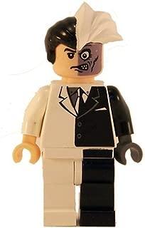 LEGO Batman Minifigure - Two-Face Black & White (2006)