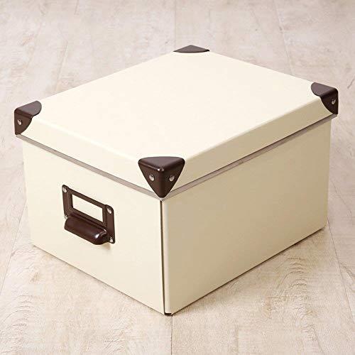 Zfggd Papel Caja de Almacenamiento Plegables Ropa Libro de Almacenamiento de Escritorio con Tapa Amarilla