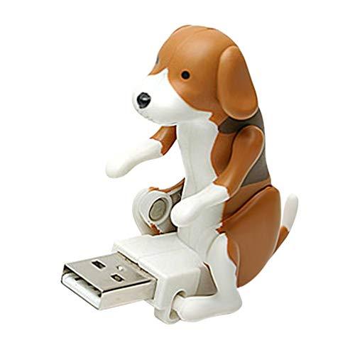 Alextry Lustige Cute Pet USB Humping Spot Dog USB Dongle Weihnachten Büro braun