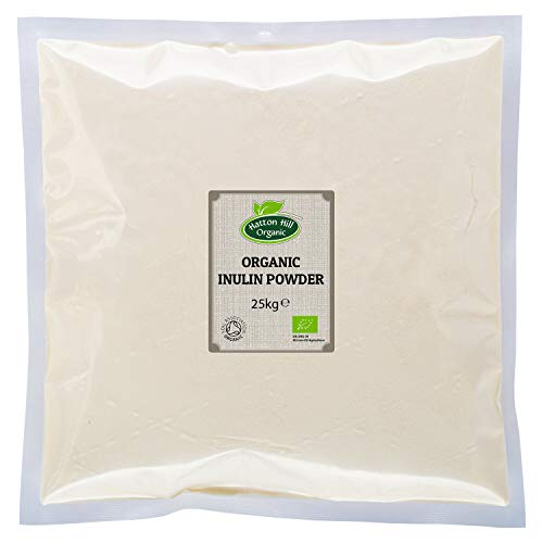 Organic Inulin Powder 25kg by Hatton Hill Organic - Free UK Delivery